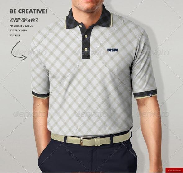 polo shirt mock-up1 - apparel mockups