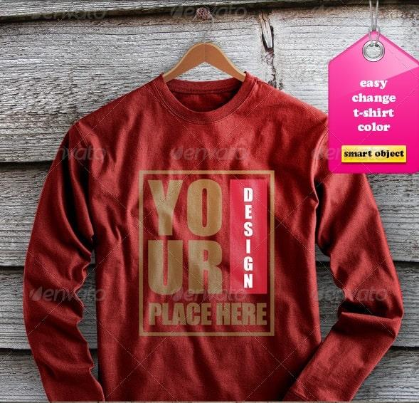 t-shirt mockup02 - apparel mockups