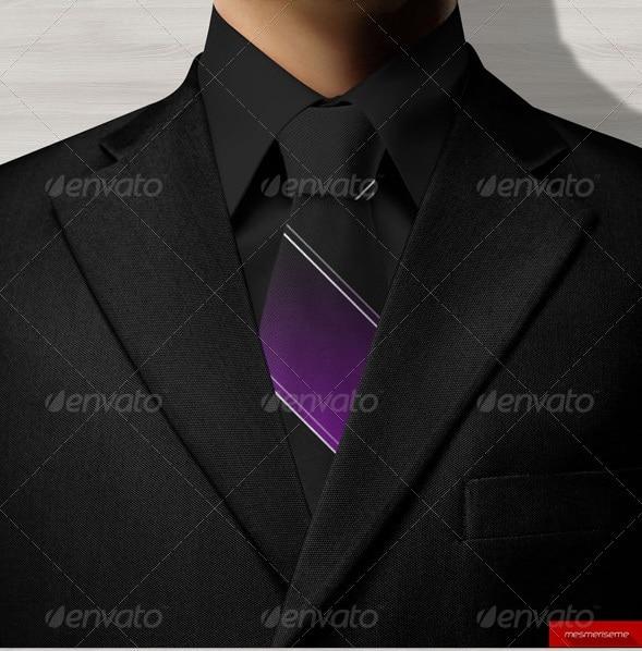 tie mock-up - apparel mockups