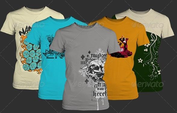 women's t-shirt mockup - apparel mockups