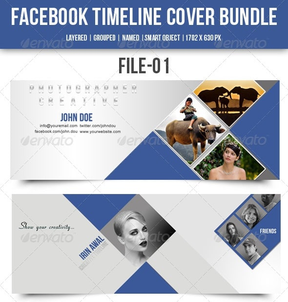 facebook timeline cover bundle