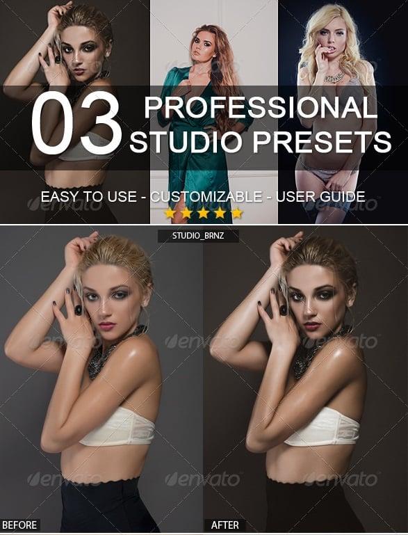 3 professional studio presets