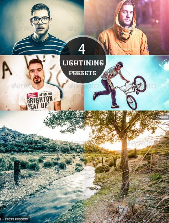 4 lightning presets