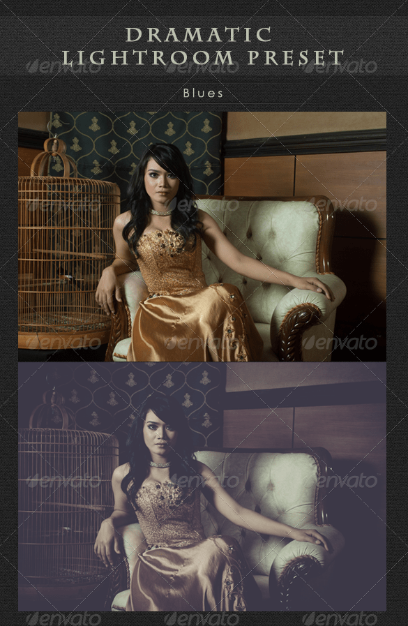 dramatic lightroom preset