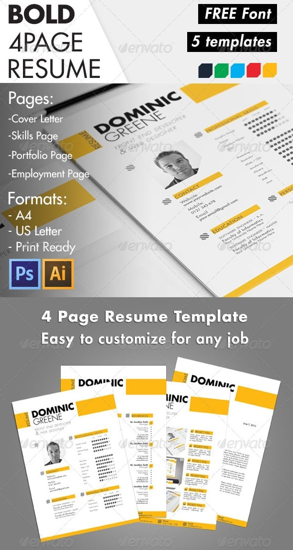 Awesome Resume Templates Free | Sample Resume And Free Resume