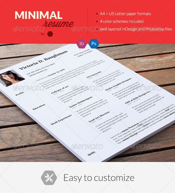 awesome free resume  cv templates