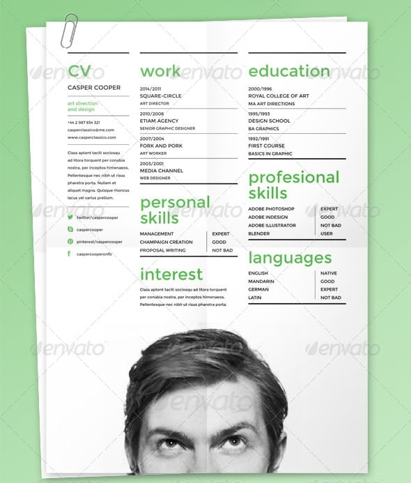 indesign resume tutorial 2014 company resume