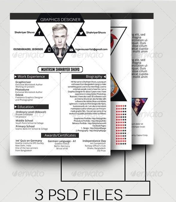 illuminate resume/cv template - Resume/CV Templates