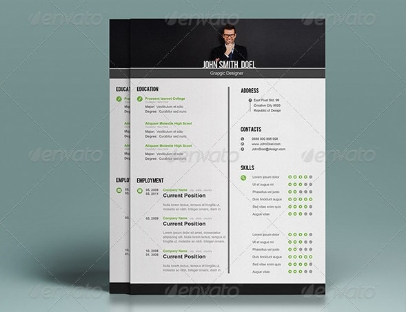modern resume template free doc templates 2017 design download