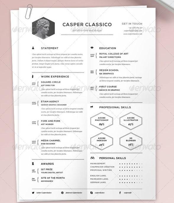 resume classic - Resume/CV Templates