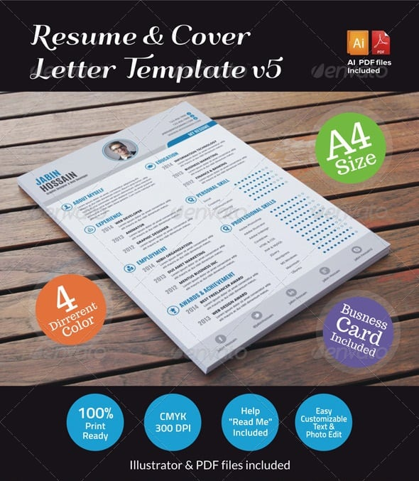 Awesome ResumeCV Templates 56pixelscom