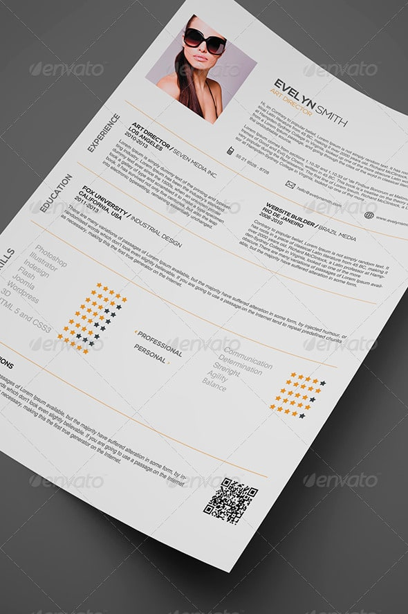 simple resume 5 - Resume/CV Templates