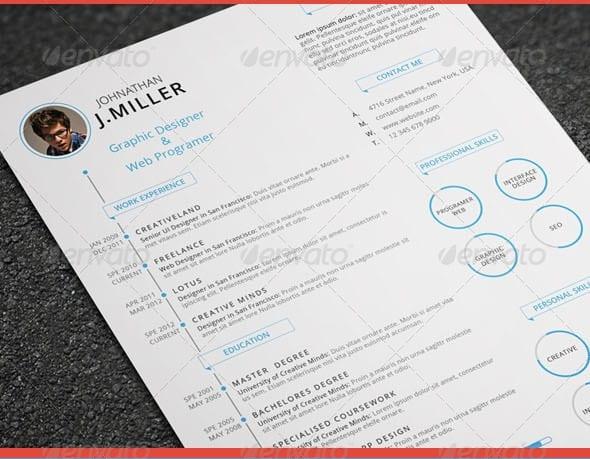 xx clean resume - Resume/CV Templates