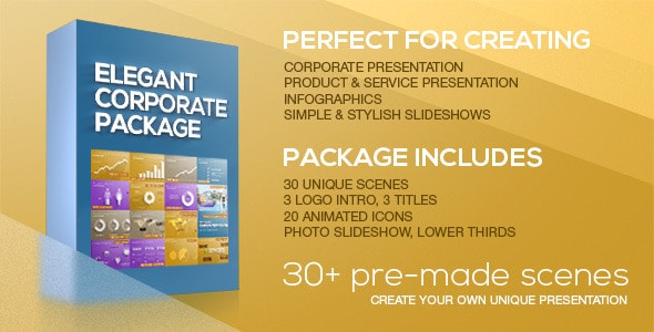 elegant corporate package