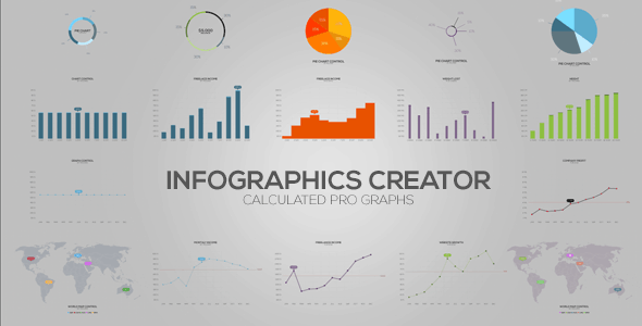 Best After Effects Infographic Templates | 56pixels.com