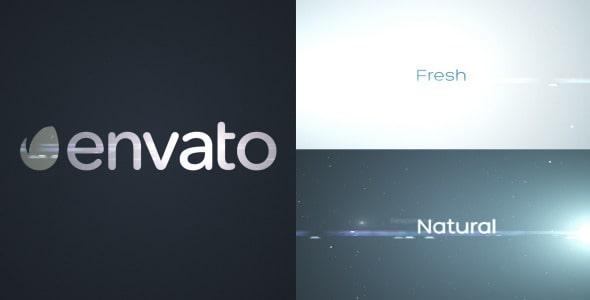 corporate positive logo intro