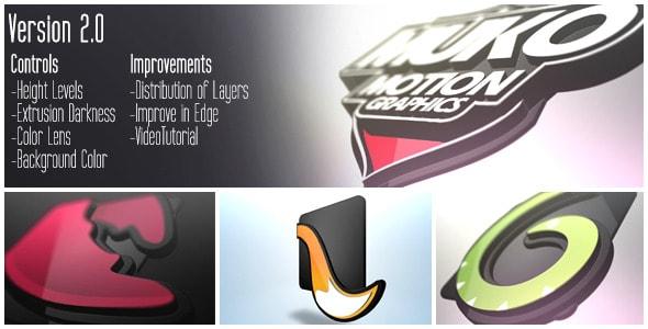 logo 3d levels