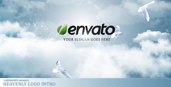 heavenly logo intro