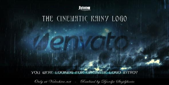 the cinematic rainy logo