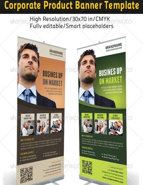 corporate multipurpose banner template 61