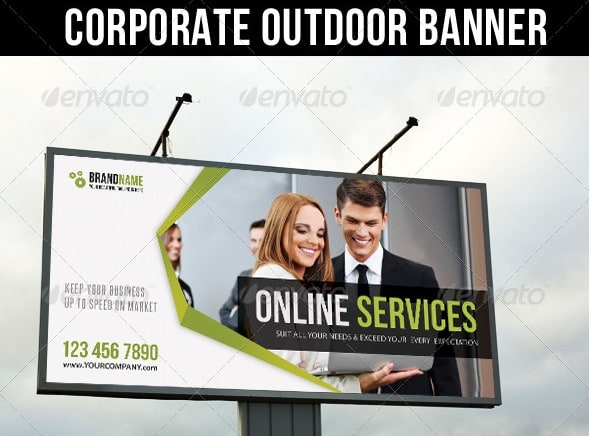 corporate outdoor banner 27