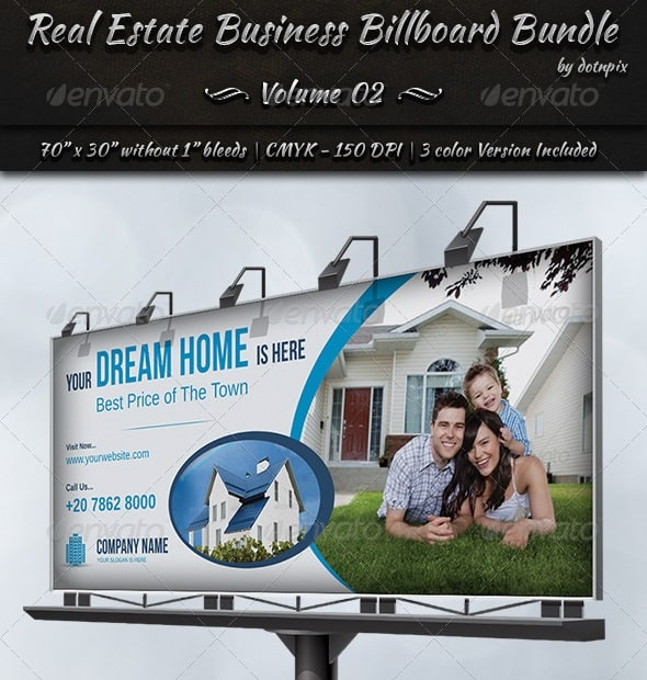 real estate business billboard bundle | volume 2