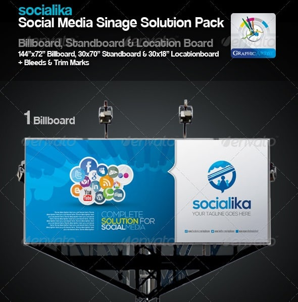 socialika social media sinage solution pack