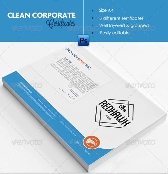 certificate pack
