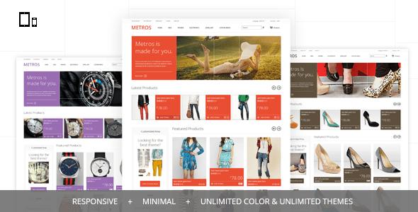 metros - minimalist responsive cs-cart theme
