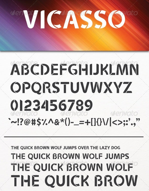 vicasso font
