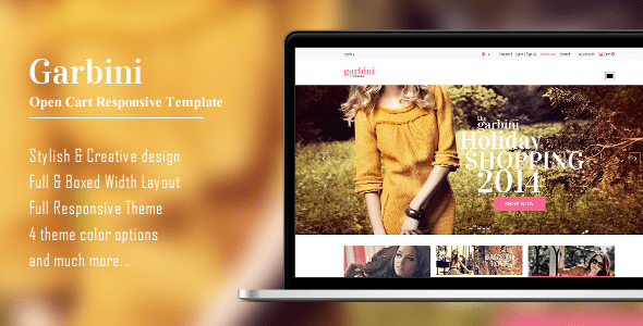 garbini - stylish opencart responsive theme