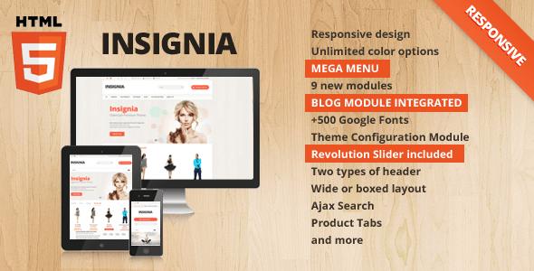 insignia - flexible opencart theme