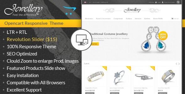 jewellery - opencart responsive template