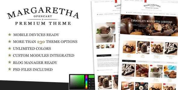 margaretha - opencart premium theme