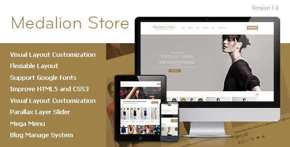 medalion - opencart responsive theme