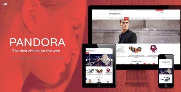 pandora - responsive opencart theme