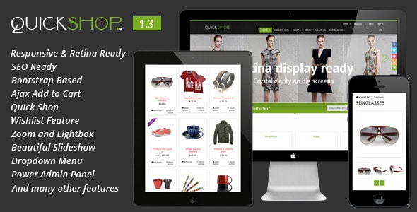 quickshop - responsive shopify theme