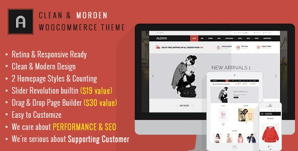 aloma - multipurpose woocommerce theme