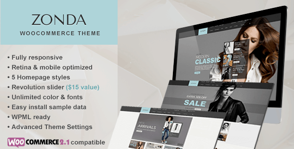 zonda - ultimate responsive woocommerce theme