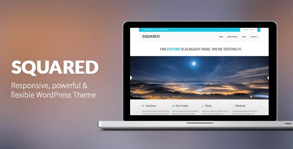 squared - responsive wordpress theme
