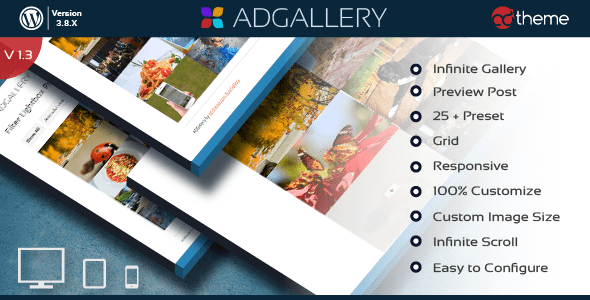 ad gallery - premium wordpress plugin