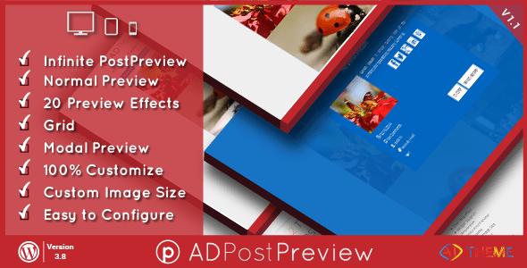 ad post preview wordpress plugin