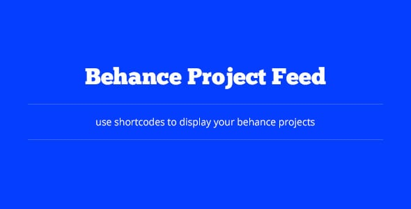 behance project feed gallery