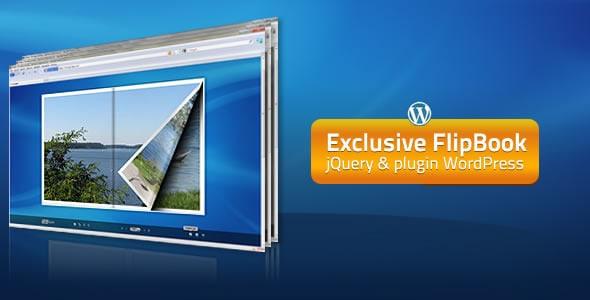 exclusive flipbook jquery&plugin wordpress