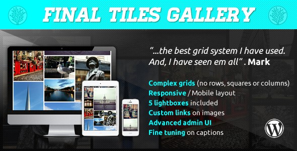 final tiles grid gallery for wordpress