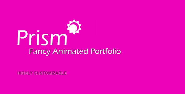 prism | fancy animated portfolio manager