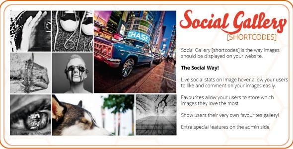 social gallery shortcodes wordpress plugin