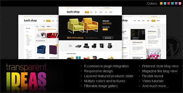 lookshop - wordpress ecommerce theme