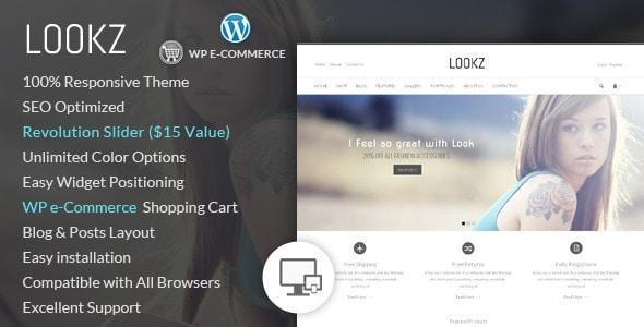 lookz - wordpress ecommerce theme