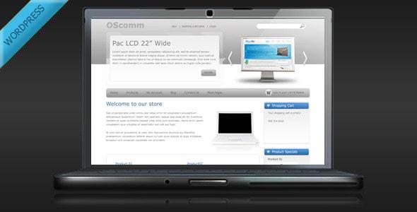 oscomm - online store wordpress theme